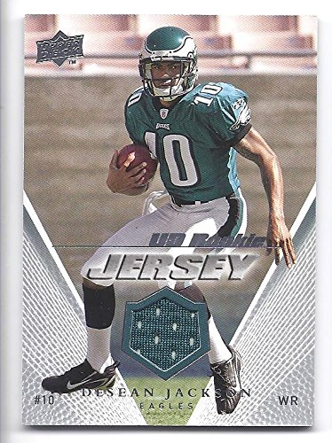 Amazon.com  DESEAN JACKSON 2008 Upper Deck UD Rookie Jerseys  UDRJJA ... 007908f25