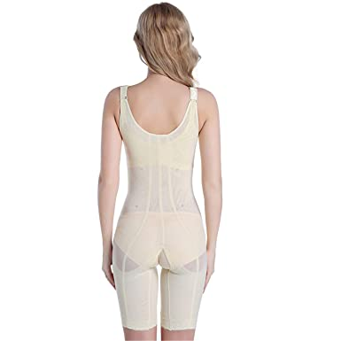 718fba5af3c2 Desirca Women Sexy Shaper Magic Slimming Bodysuits Building Underwear  Ladies Shapewear Slimming Suits Pants Legs Body Shaping Beige One Size at  Amazon ...