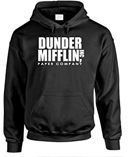 Sunny 2018 Long Sleeve The Office Tv Show Dunder Mifflin Paper Hoodies Crew Neck Hoodies For Men Hoodies & Sweatshirts