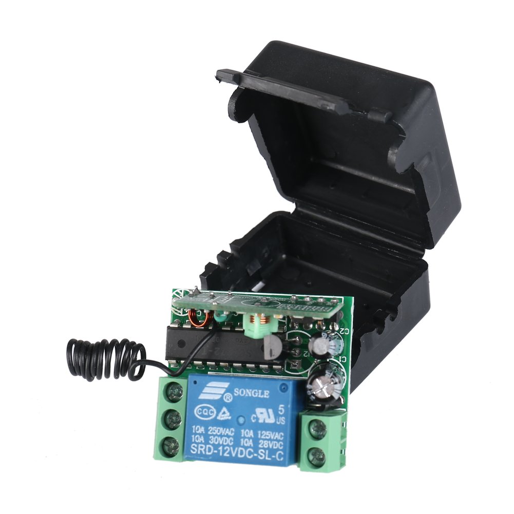 Buy Elenker Dc 12v 10a Relay 1ch Wireless Rf Remote Control Switch Wltoy Pcb Box 24g Receiver Main Board Circuit Spare Parts For Transmitter With Online At Low Prices In India