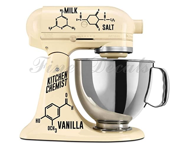 professional kitchen mixer decal images