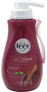 Veet Gel Hair Remover Cream, Sensitive Formula, 13.5 oz
