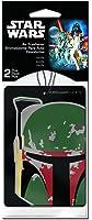 Plasticolor 005544R01 Star Wars 'Boba Fett' Air Freshener, (Pack of 2)