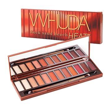Amazon Com Yiitay 12 Colors Eyeshadow Palette Matte Eyeshadow Warm