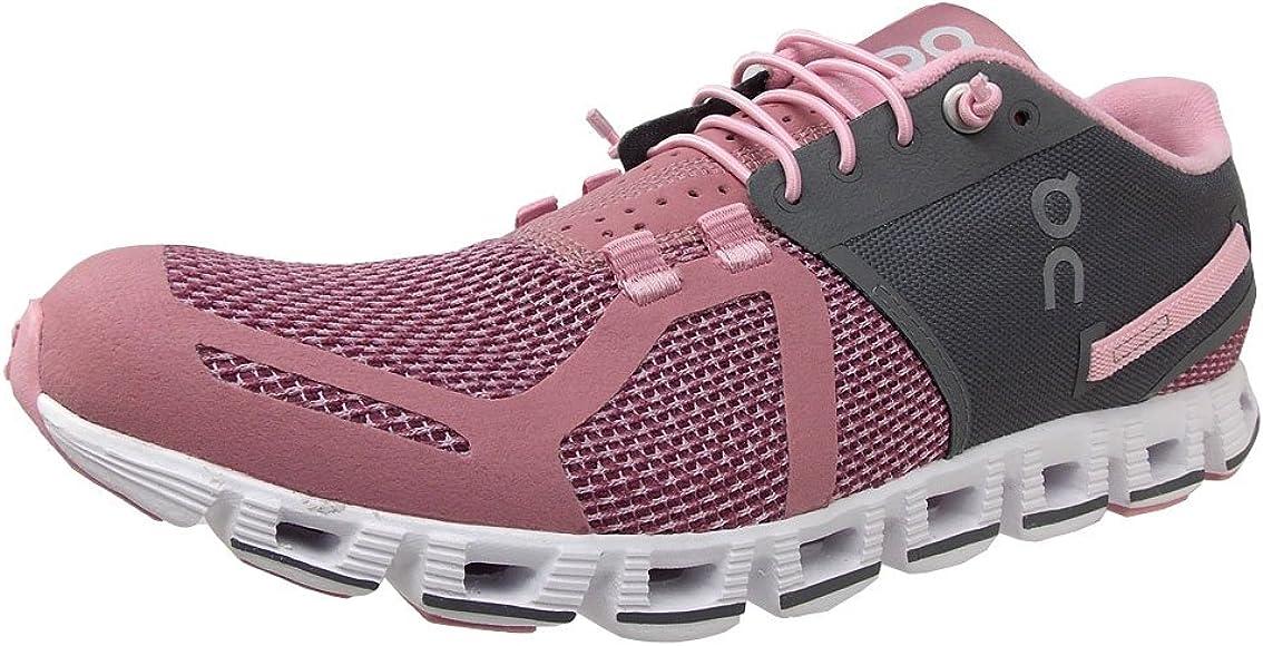 Running Cloud Sneaker, Charcoal/Rose