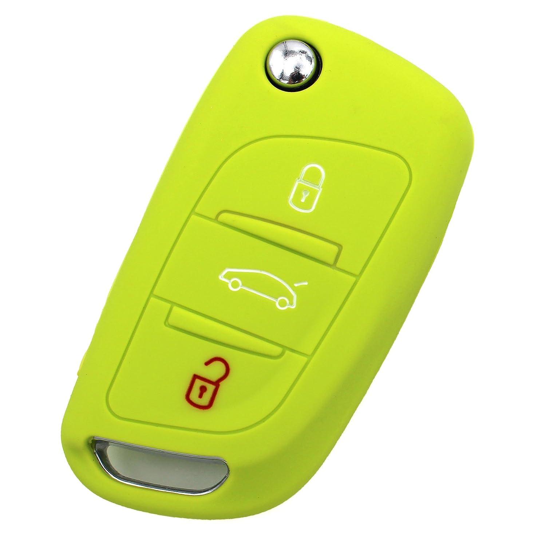 Llave M/óvil CA para 3/botones llave de coche silicona Cover de Finest de Folia