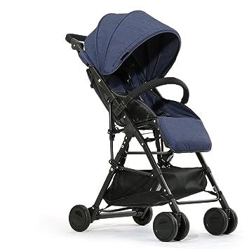 El cochecito de bebé, portable ultra-ligero se puede doblar ...