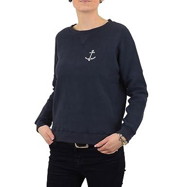 various colors c5699 e73a2 Derbe Damen Sweatshirt Thelma dunkelblau - locker ...