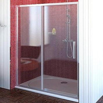 Top Duschkabine Nischentür 110cm breit, 200cm hoch, 1 Schiebetür LZ28