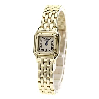release date: ab869 753d6 Amazon   CARTIER(カルティエ) ミニ パンテール 腕時計 K18 ...