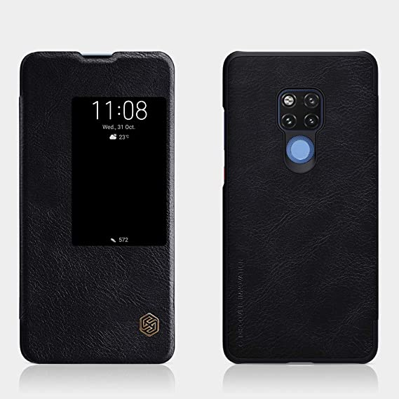 quality design de1a3 4c0ce Amazon.com: Huawei Mate 20 X Case,Huawei Mate 20 X Synthetic Leather ...