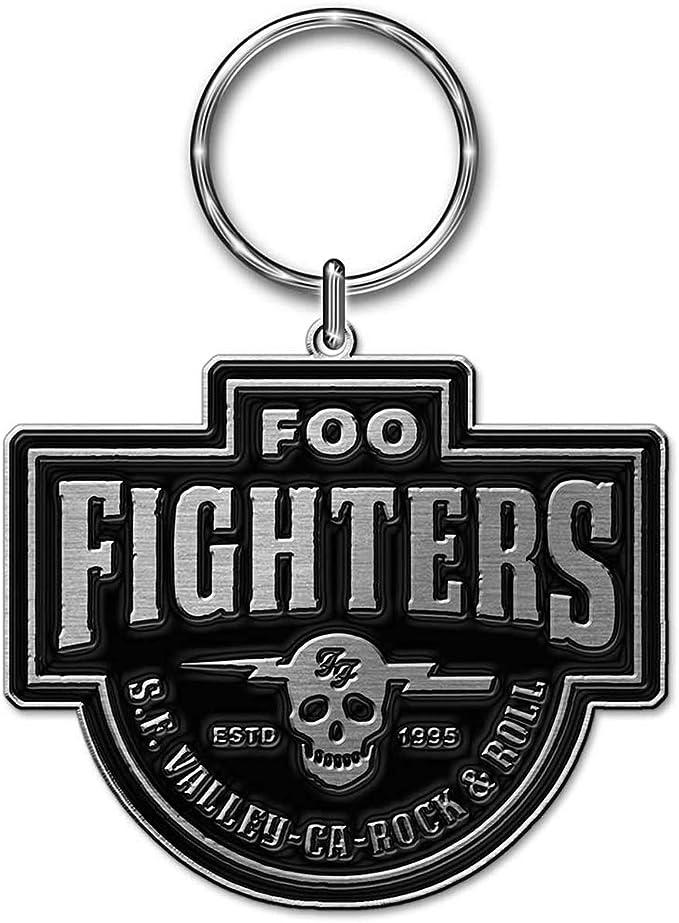 FOO FIGHTERS Keychain Portachiavi Logo OFFICIAL MERCHANDISE