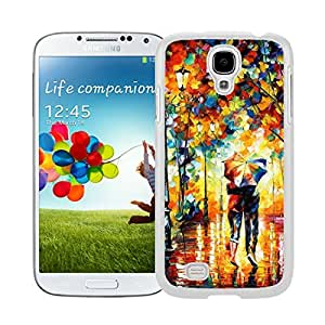 FAGUO New style cell phone cases of Rain Day Street Samsung Galaxy S4 i9500 Case White Cover