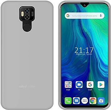 Funda Gel TPU para Ulefone Power 6 Color Transparente: Amazon.es ...