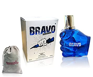 Amazon.com : BRAVO PERFUME for MEN, 2.8 fl oz - 85 ml, EDT VERSION of DIESEL ONLY THE BRAVE by MIRAGE BRANDS With a NovoGlow Pouch Included : Beauty