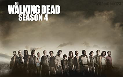 The Walking Dead Season 1 2 3 4 Poster 36 Inch X 24 Inch 20 Inch X 13 Inch