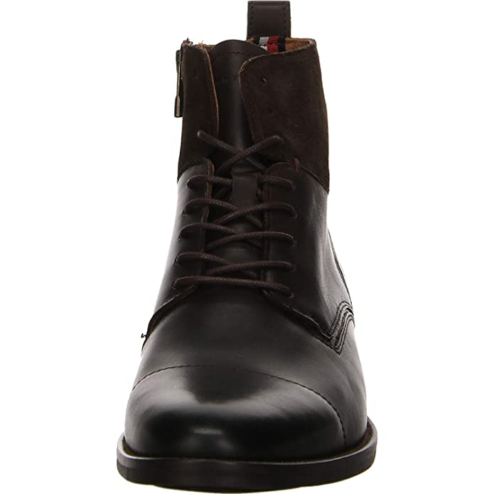 Tommy Hilfiger Denim - Botines de caño bajo Hombre, Color Marrón, Talla 42 EU: Amazon.es: Zapatos y complementos