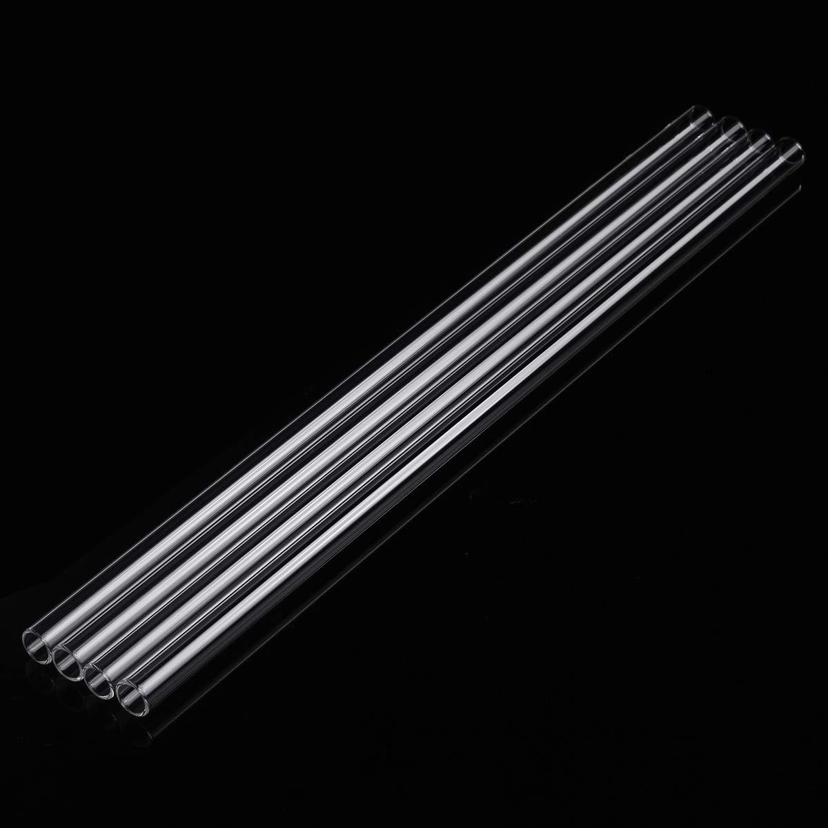 ExcLent 4Pcs Tube De Soufflage De Verre Borosilicate /À Paroi /Épaisse 300Mm X 10Mm X 1Mm