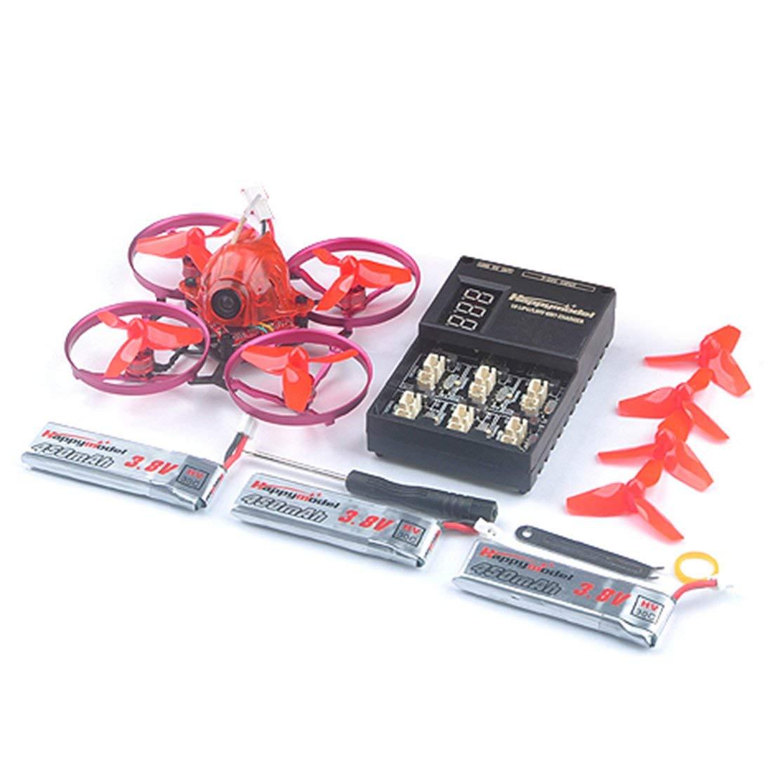 nueva gama alta exclusiva CHANNIKO-ES Happymodel Snapper7 Sin escobillas Whoopi Whoopi Whoopi Tres baterías Aviones BNF Micro 75mm FPV Quadcopter 4en1 Crazybee F3 FC Flysky Receptor  ofrecemos varias marcas famosas