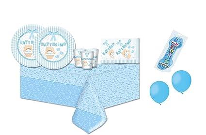Piatti Di Carta Battesimo : Irpot kit pz coordinato tavola battesimo bambin