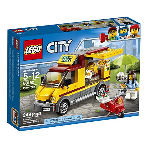 LEGO City Great Vehicles Pizza Van 60150 Construction -
