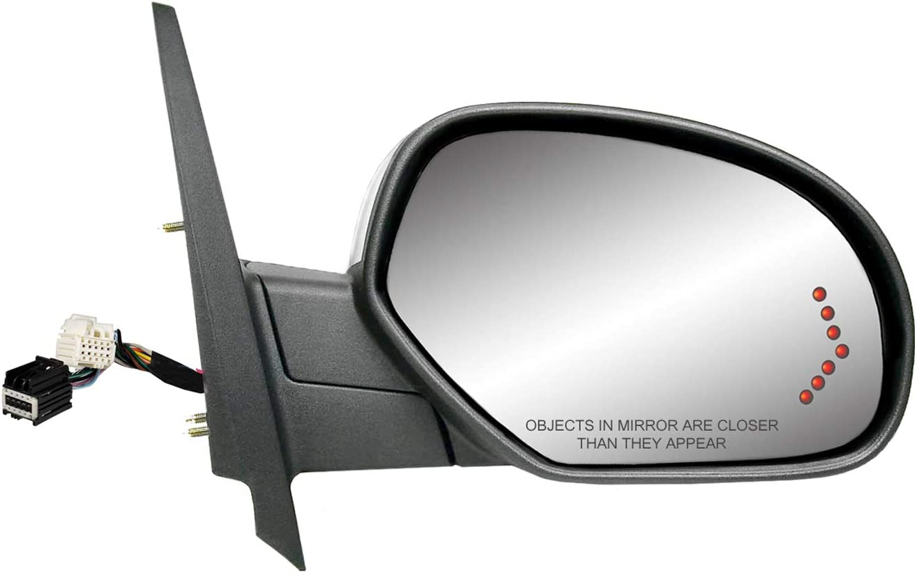 Fit System 62149G Chevy OEM Style Replacement Mirror