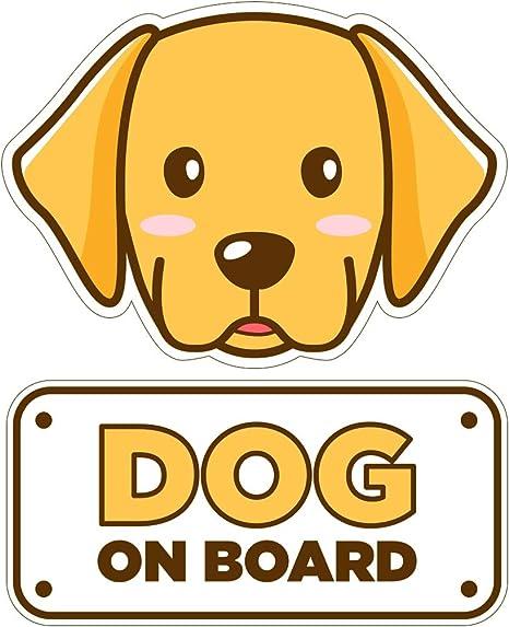Dog On Board car sticker