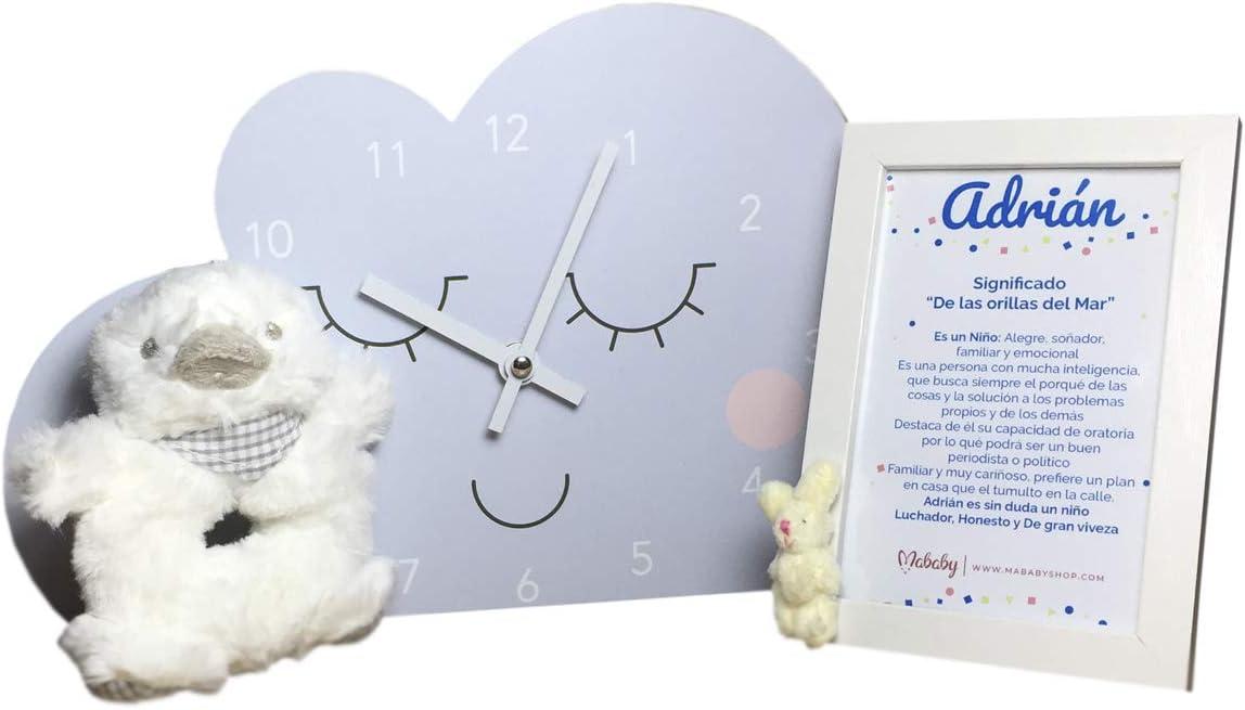 Set regalo Bebe Modelo My Cloud | Regalos para recien nacidos …(Celeste)