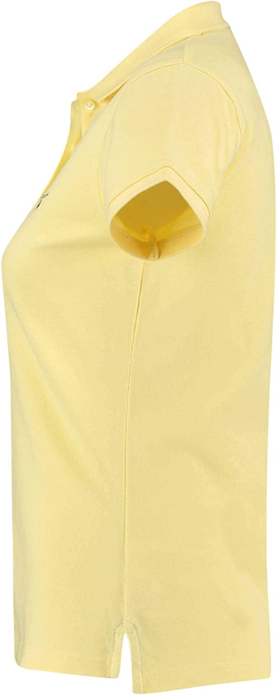 GANT Women's The Summer Pique Polo Shirt Vanilla