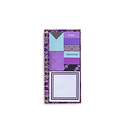 Vera Bradley Planner Sticky Notes Dream Tapestry