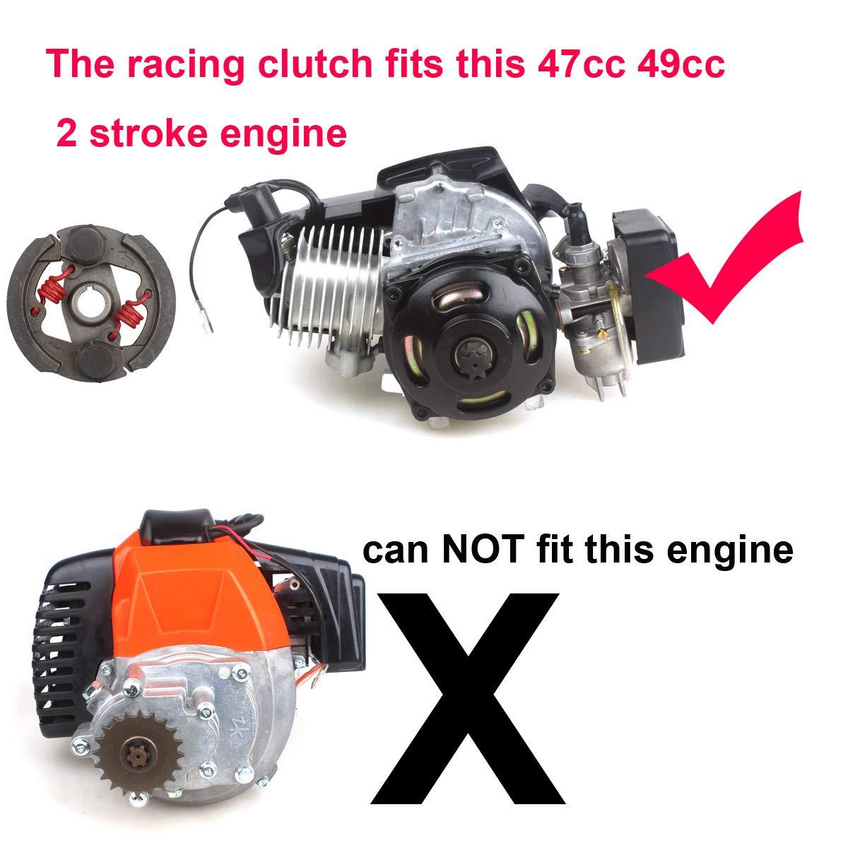 Racing Heavy Duty Mini Moto Clutch Pad 43 47 49cc Engine Pocket Kid ATV Wingsmoto
