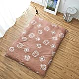 hxxxy Tatami Mattress Cover,Cotton Mattress [dust-Proof] Bedspread Floor mat Full Cover Coverlet-A 150x200cm(59x79inch)
