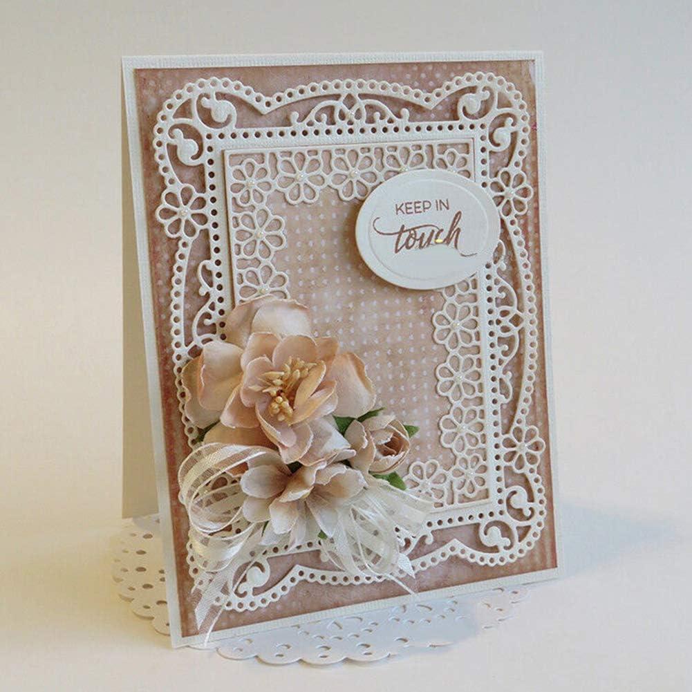 16 Large 3D Papier fait main fleurs Cardmaking Pâques Craft Embellissement