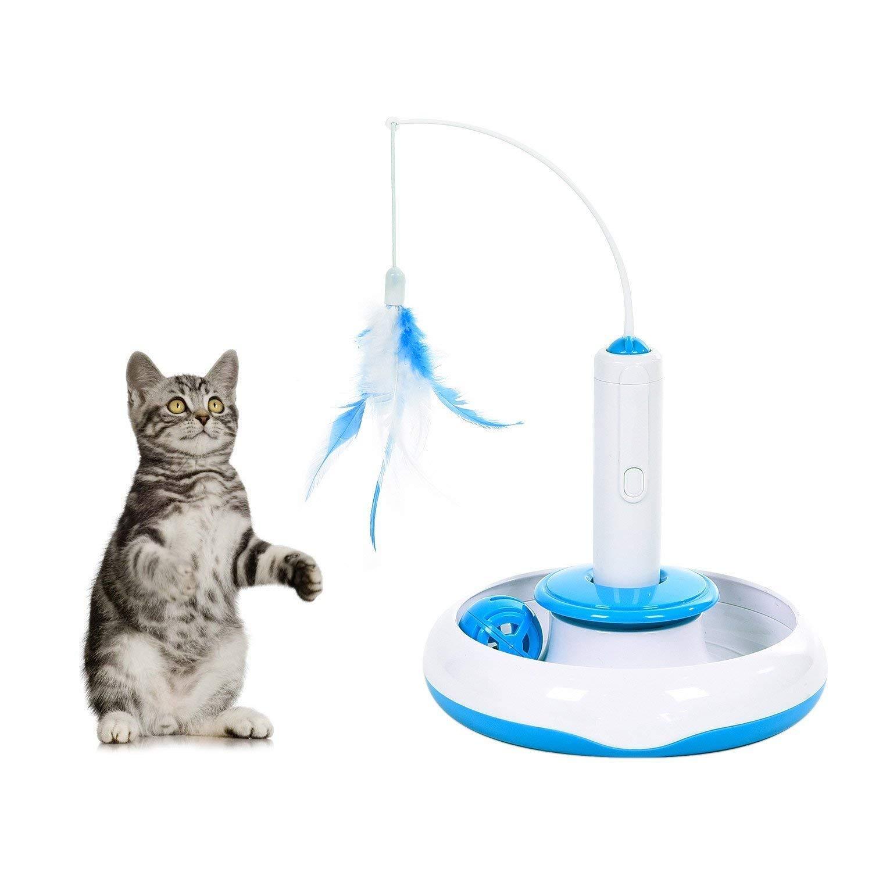 Made King - Comederos automáticos para Mascotas, para Perros y Gatos con alimento y dispensador de Agua, alimentador automático de Comida para Mascotas y ...