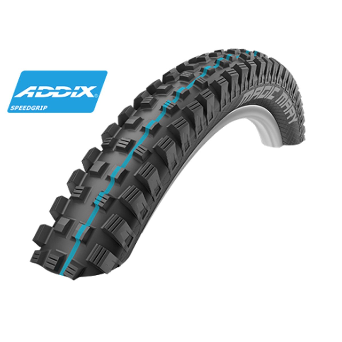 Schwalbe Magic Mary HS 447 Addix Evolution蛇皮Tubeless Easyマウンテン自転車タイヤ – 折りたたみ B075FFYDGH 27.5 x 2.60 Addix Speedgrip|Black Addix Speedgrip Black Addix Speedgrip 27.5 x 2.60 Addix Speedgrip