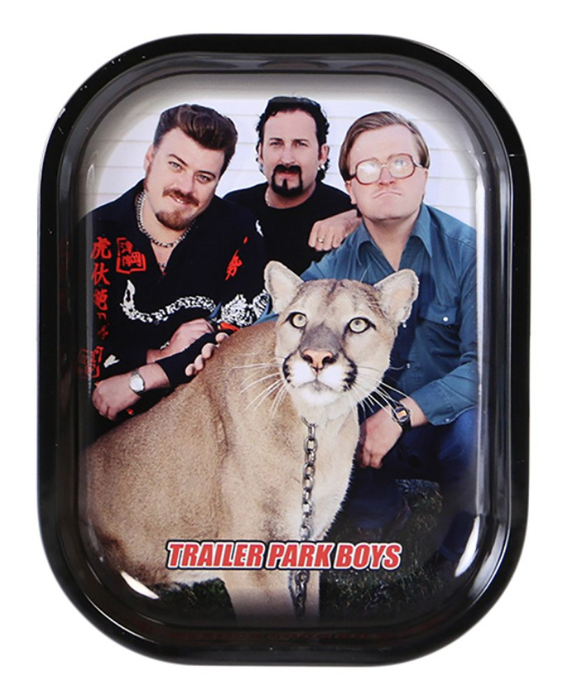 Trailer Park Boys Rolling Tray - Big Kitty Graphic - Small - 5.5 x 7 Famous Brands