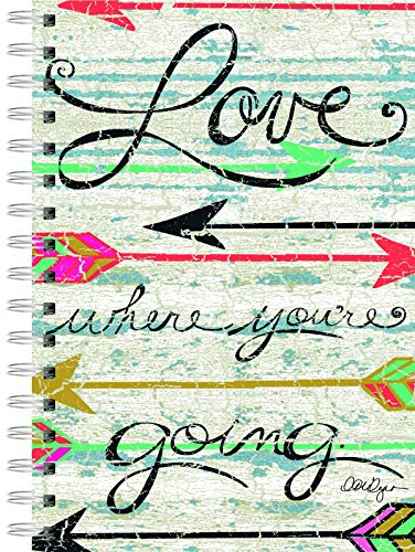 Lang Love Where You Go Spiral Journal by LoriLynn Simms, 6 x 8.25, 240 Ruled Pages (1350012) ()