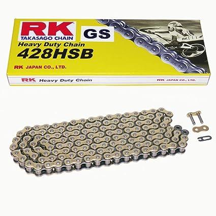 RK Cha/îne Moto Kit 428HSB 114 Maillons