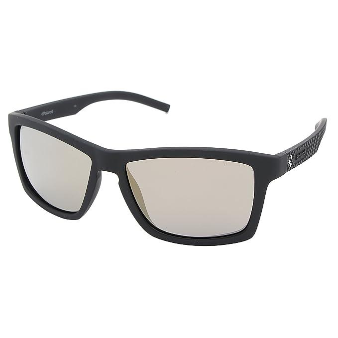 483dea255f anteojos de sol Polaroid unisex para adultos pld7009n PLD7009N polarizadas  Wayfarer, azul, gris,