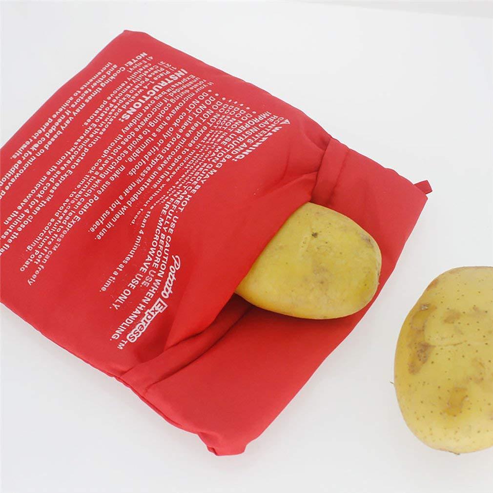 creatspaceE - Bolsa para cocinar Patatas en microondas, con ...