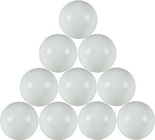 FAS 10 palline calcio balilla PROFESSIONALI bianche GAL19PR con sacchetto di plastica