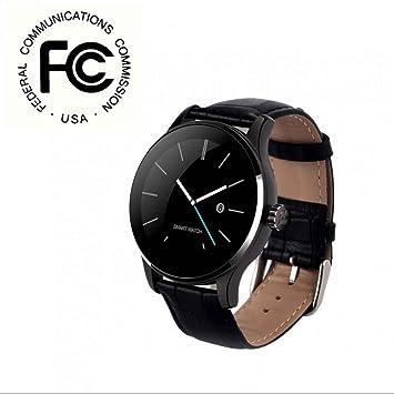 Monitor de Sueño Fitness Relojes Smart pulsera Bluetooth Relojes Monitor de Ritmo Cardíaco, Sueño,