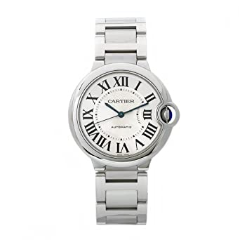 1ac39123ebe5 Amazon.com  Cartier Women s W6920046 Ballon Bleu Stainless Steel ...