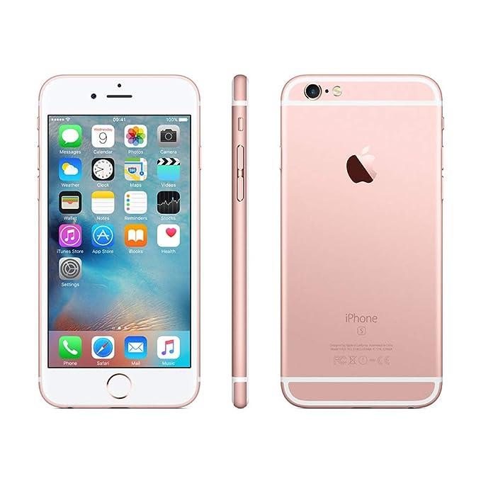 7c95de66de4 Apple iPhone 6s Rosa 16GB Smartphone Libre (Reacondicionado): Amazon.es:  Electrónica