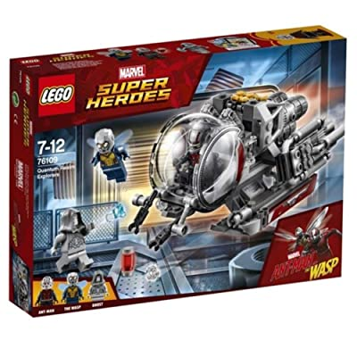 LEGO Marvel Ant-Man Quantum Realm Explorers 76109 Building Set (200 Piece): Toys & Games