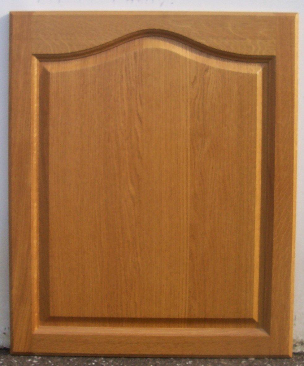 Mfi Replacement Kitchen Doors Solid Oak Cathedral Kitchen Cabinet Door 565mm X 496mm Amazonco