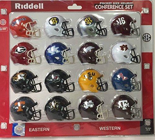 Conf Set (Riddell Pocket Pro SEC Speed Style Pocket Pro Conference Set (16 Helmets))