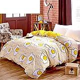 Cotton/single quilt cover/bedding article/cotton quilt-H 160x210cm(63x83inch)