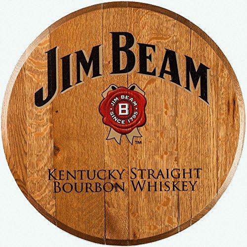 Bourbon Barrel Head -- Jim Beam from A Taste of (Jim Beam Bottle)
