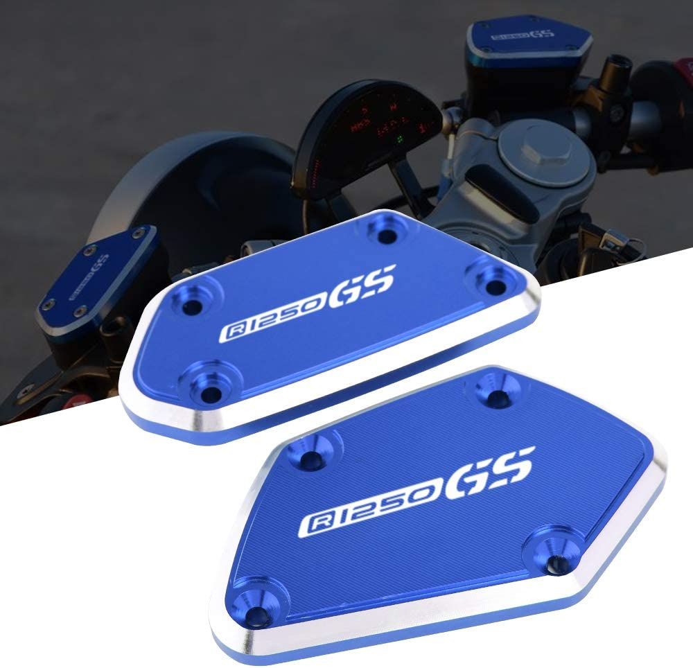 Motorrad Vorderer Bremsflüssigkeitsdeckel Bremskupplungs Ölbehälter Fluid Cap Abdeckung Cnc Passend Für B M W R1250gs R1250 Gs Auto